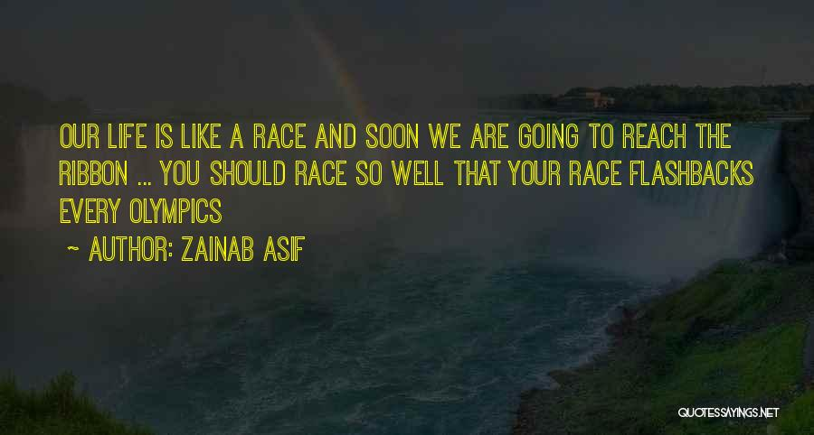 Top 65 Life Is Like A Race Quotes Sayings
