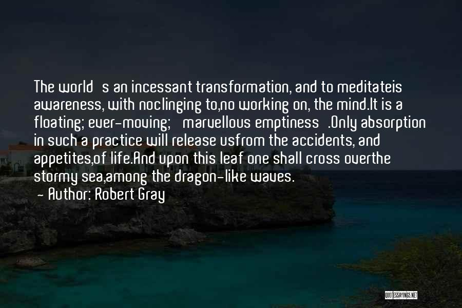 Life Is Like Waves Quotes By Robert Gray