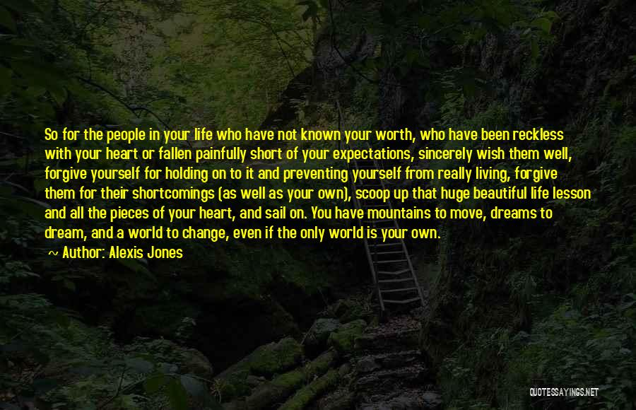 Life Is Not Short Quotes By Alexis Jones