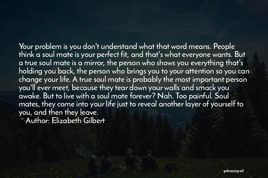 Life Is Perfect With You Quotes By Elizabeth Gilbert