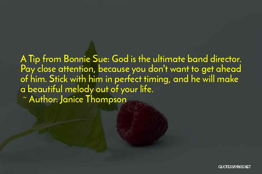 Life Is Perfect With You Quotes By Janice Thompson
