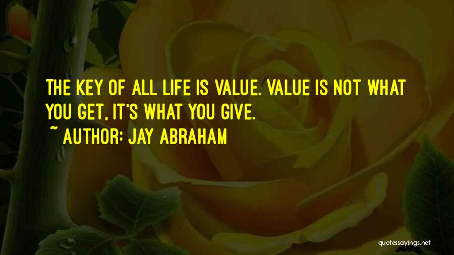 Life Is Quotes By Jay Abraham