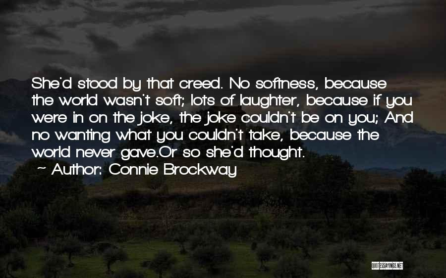 Life Joke Quotes By Connie Brockway