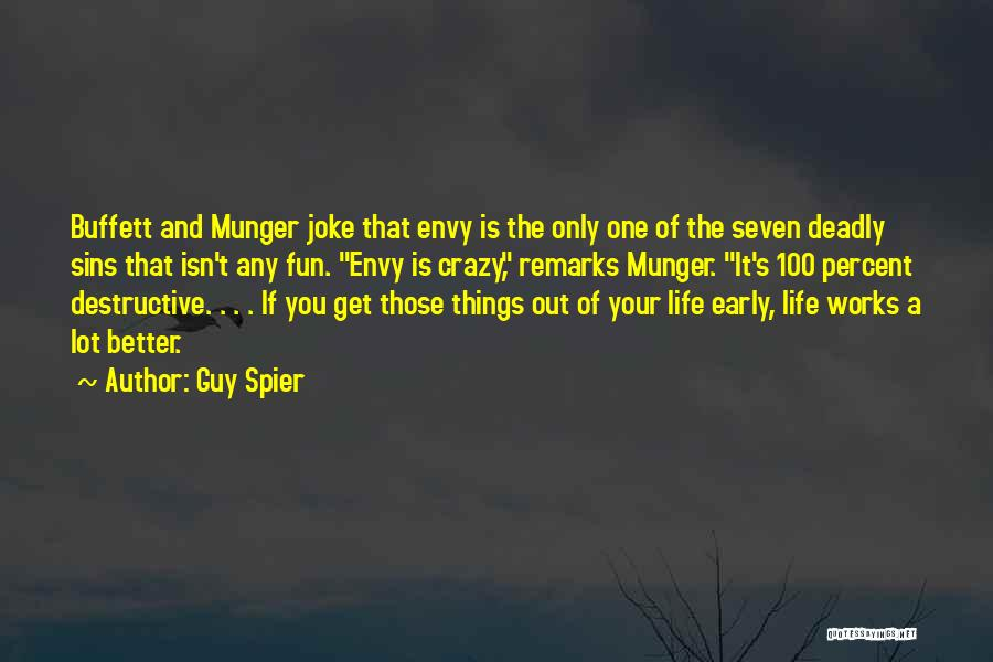 Life Joke Quotes By Guy Spier