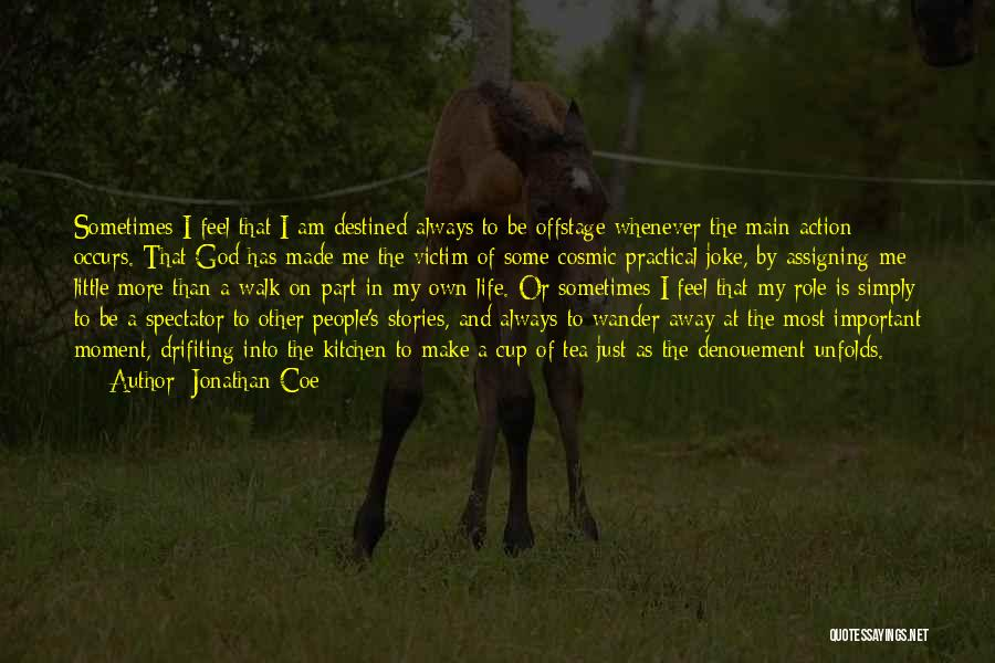 Life Joke Quotes By Jonathan Coe