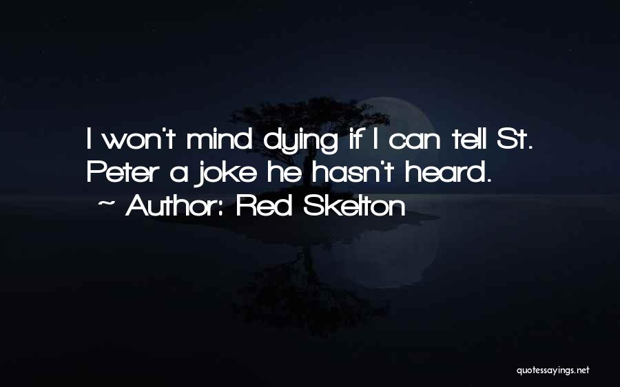 Life Joke Quotes By Red Skelton