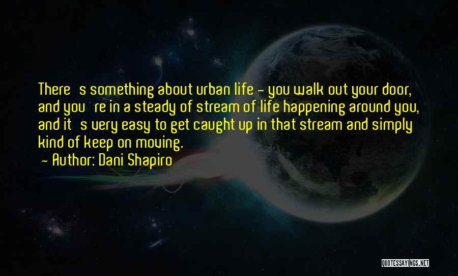 Life Keep Moving Quotes By Dani Shapiro