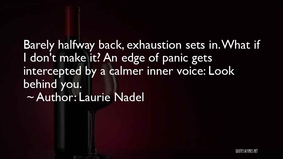Life Keep Moving Quotes By Laurie Nadel