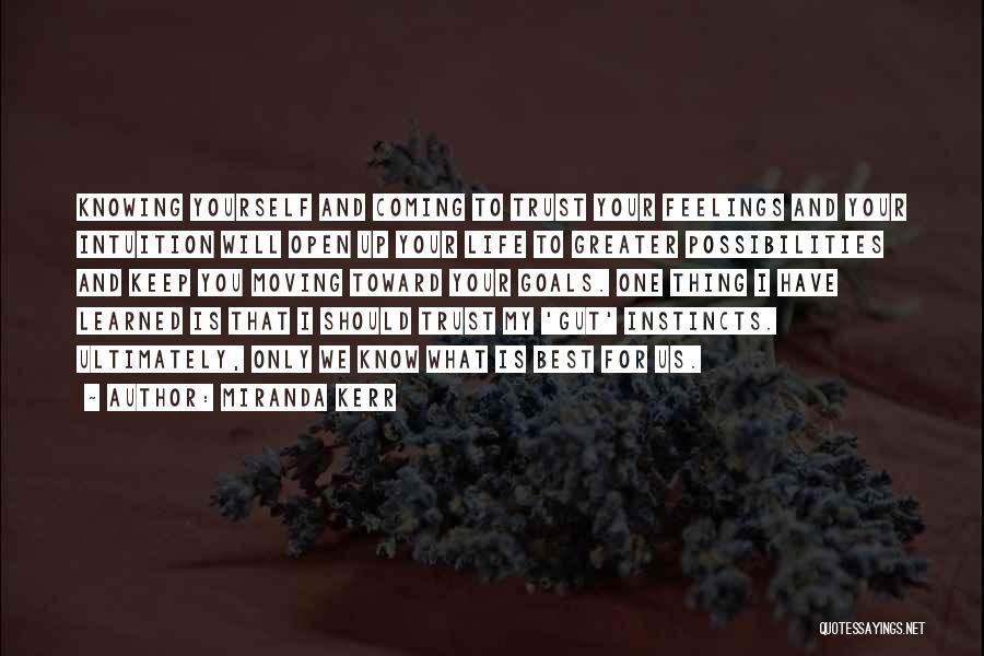 Life Keep Moving Quotes By Miranda Kerr
