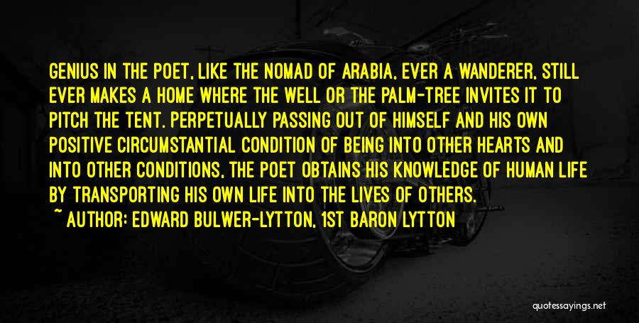Life Like A Tree Quotes By Edward Bulwer-Lytton, 1st Baron Lytton