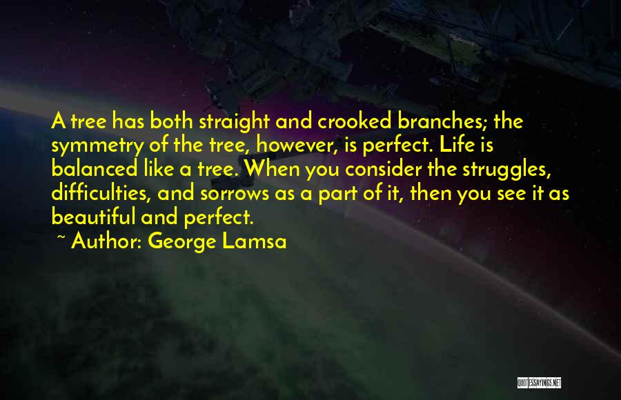 Life Like A Tree Quotes By George Lamsa