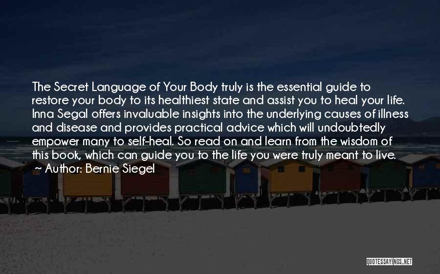 Life Live And Learn Quotes By Bernie Siegel