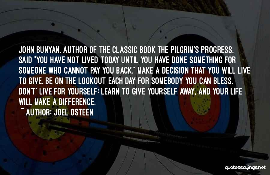 Life Live And Learn Quotes By Joel Osteen