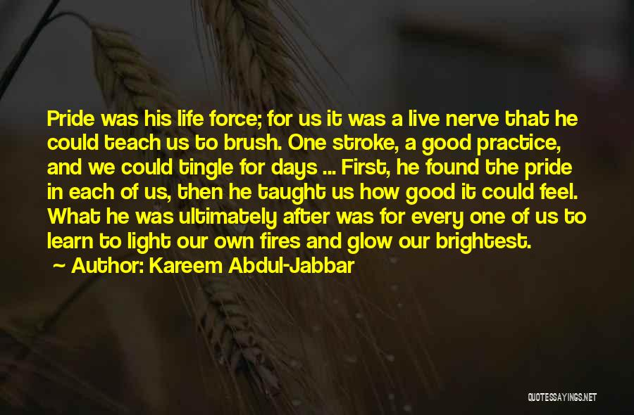Life Live And Learn Quotes By Kareem Abdul-Jabbar