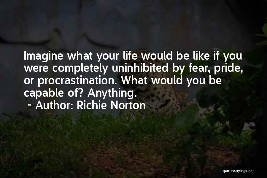 Life Living Your Life To The Fullest Quotes By Richie Norton