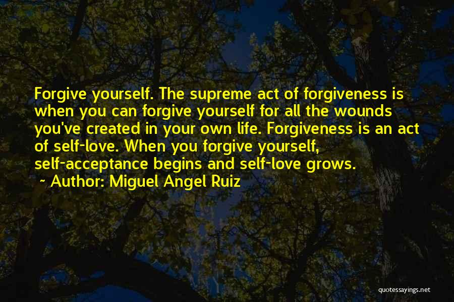 Life Love And Forgiveness Quotes By Miguel Angel Ruiz