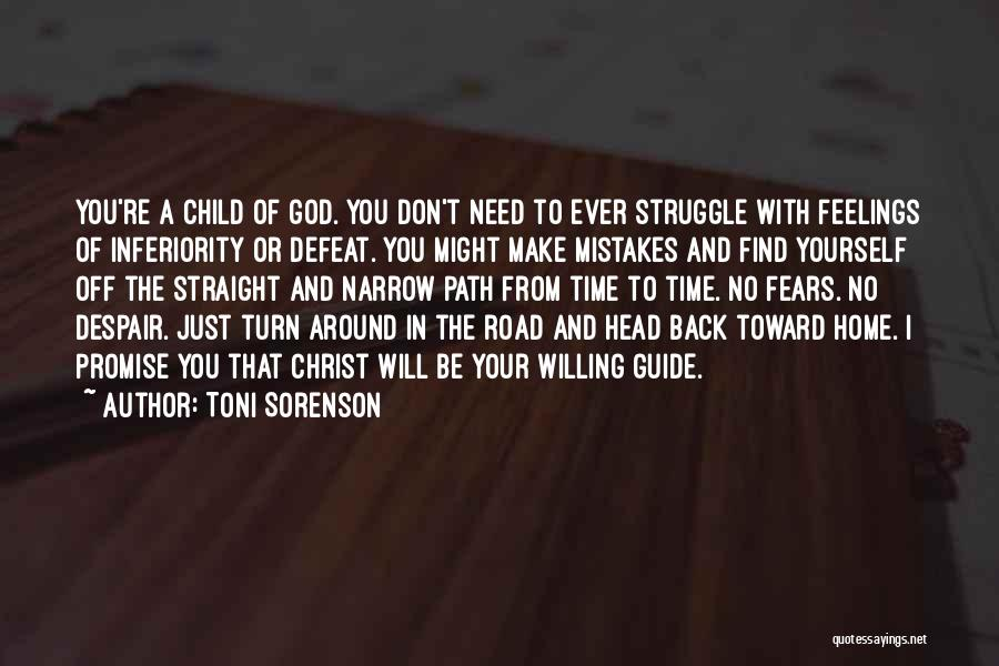 Life Love And Forgiveness Quotes By Toni Sorenson