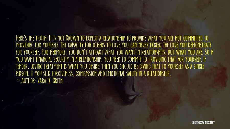 Life Love And Forgiveness Quotes By Zara D. Green