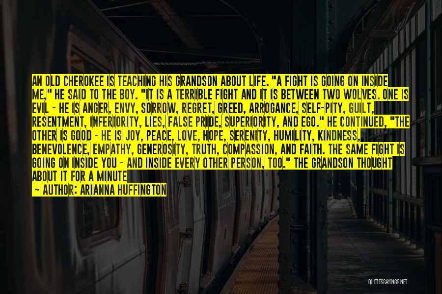 Life Love And Regret Quotes By Arianna Huffington