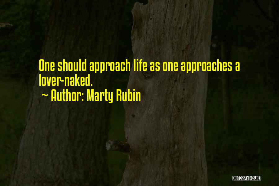 Life Lover Quotes By Marty Rubin