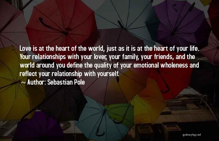 Life Lover Quotes By Sebastian Pole