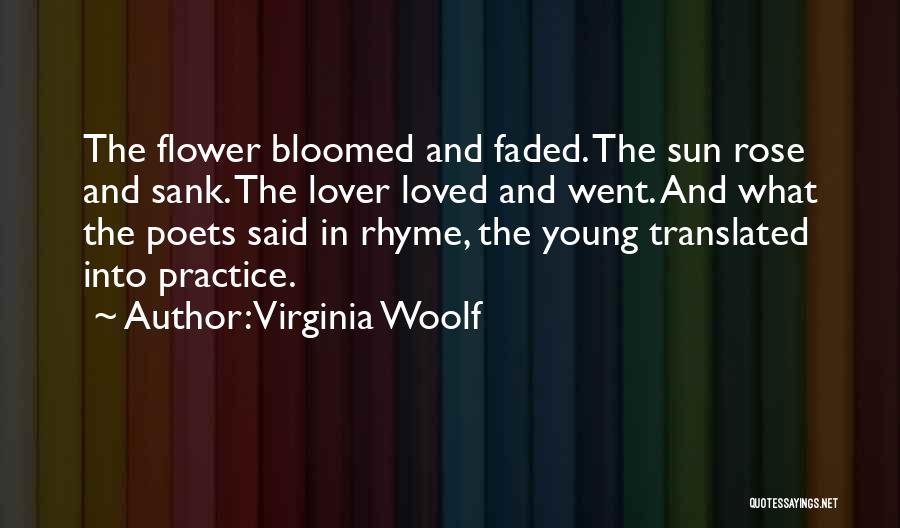 Life Lover Quotes By Virginia Woolf