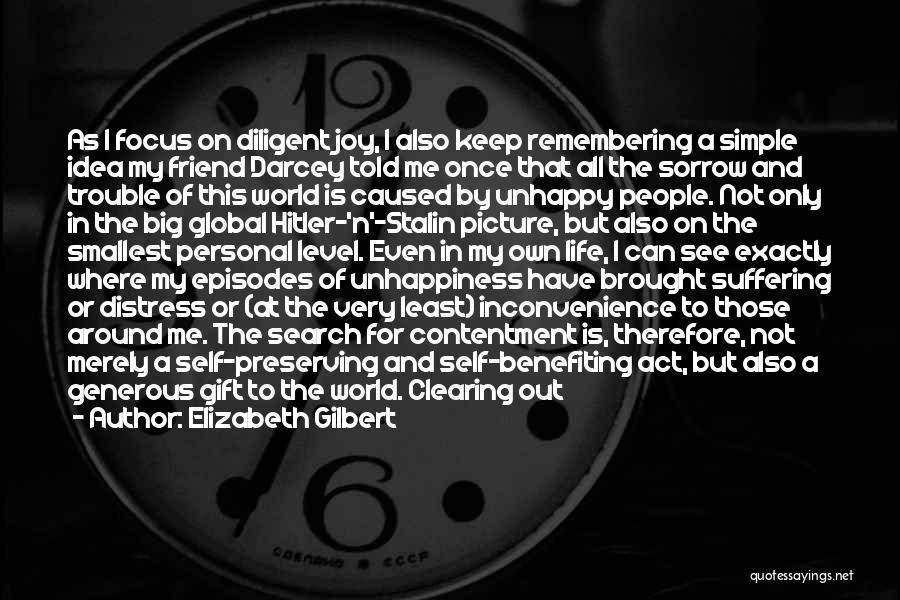 Life N Joy Quotes By Elizabeth Gilbert