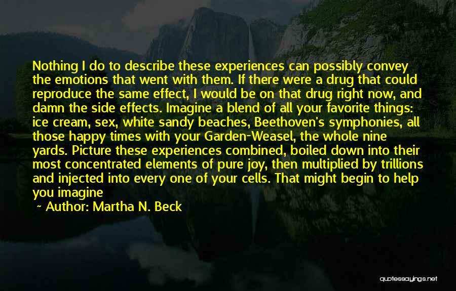 Life N Joy Quotes By Martha N. Beck