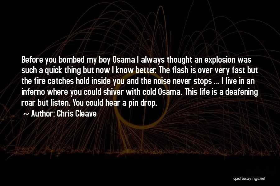 Life Never Stops For Someone Quotes By Chris Cleave