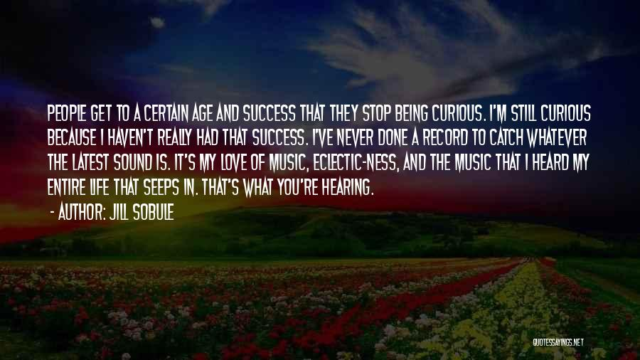 Life Of Music Quotes By Jill Sobule