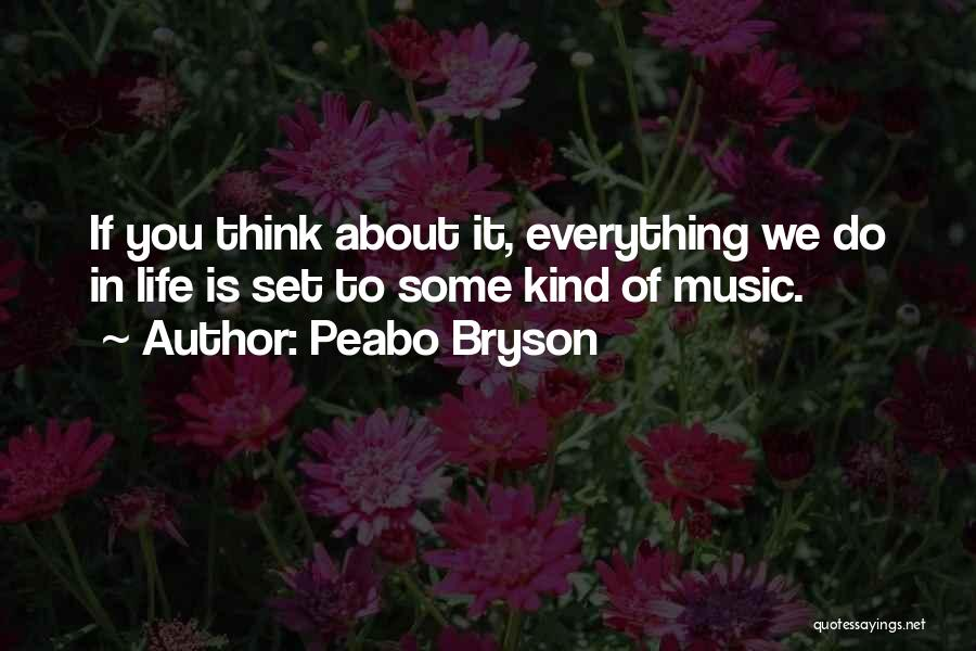Life Of Music Quotes By Peabo Bryson