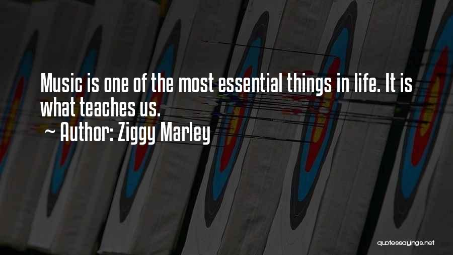 Life Of Music Quotes By Ziggy Marley