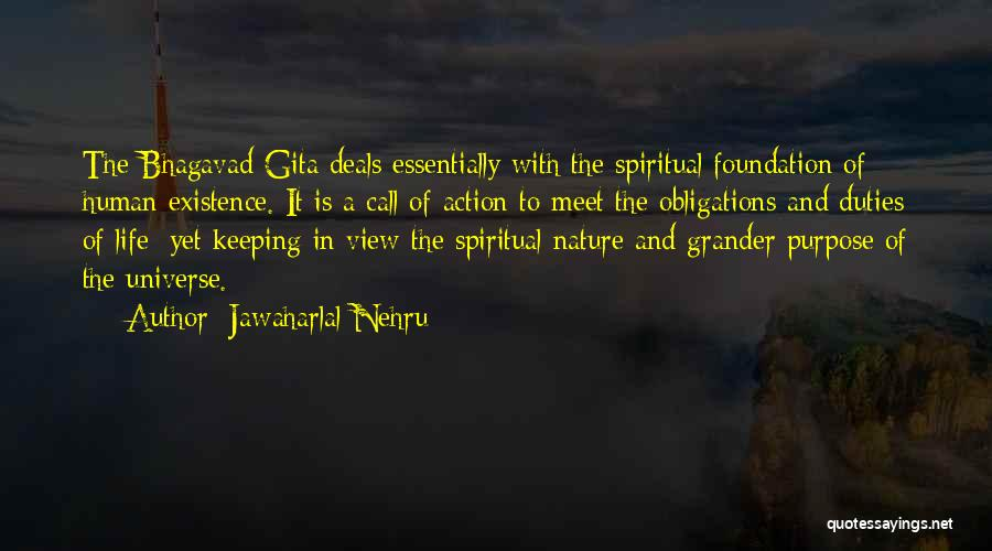 Life Of Purpose Quotes By Jawaharlal Nehru