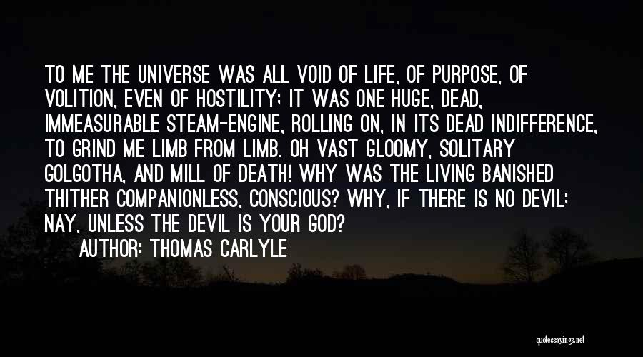 Life Of Purpose Quotes By Thomas Carlyle