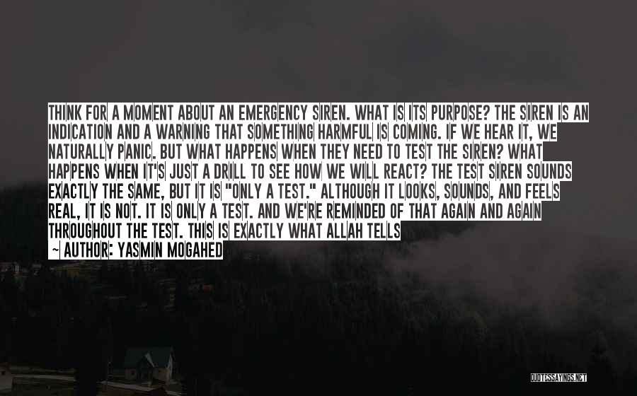 Life Of Purpose Quotes By Yasmin Mogahed