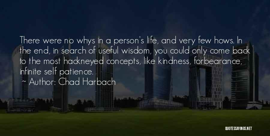 Life Of Wisdom Quotes By Chad Harbach