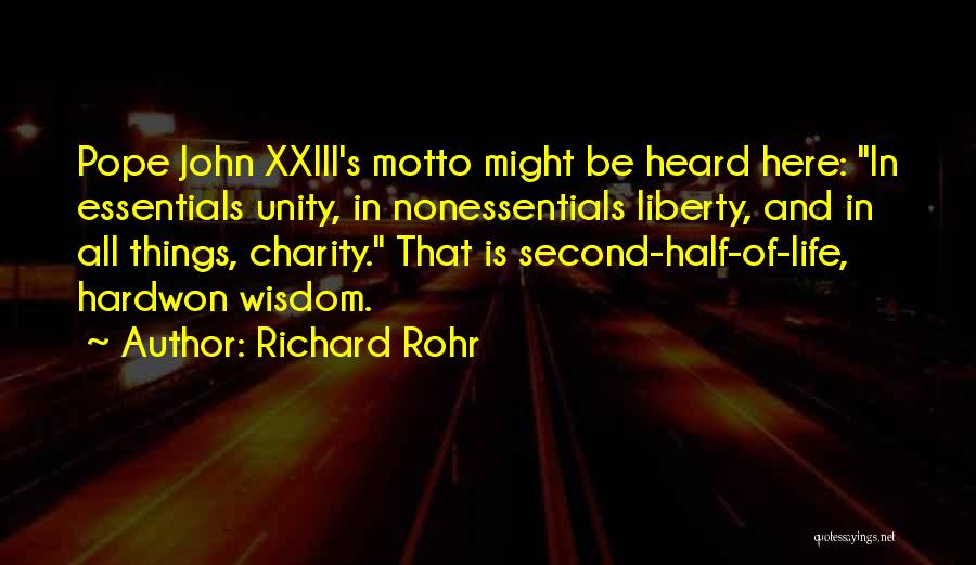 Life Of Wisdom Quotes By Richard Rohr