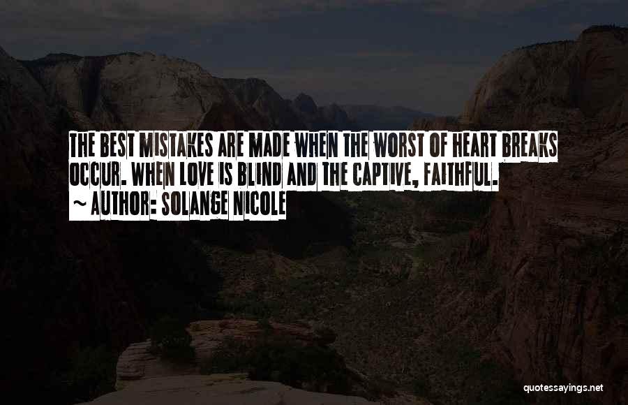 Life Of Wisdom Quotes By Solange Nicole