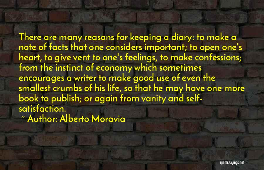Life Open Book Quotes By Alberto Moravia