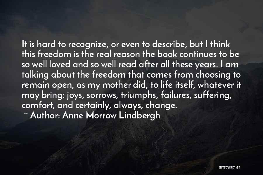 Life Open Book Quotes By Anne Morrow Lindbergh
