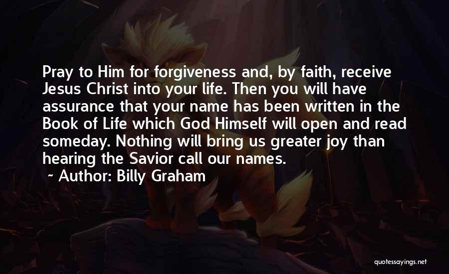 Life Open Book Quotes By Billy Graham