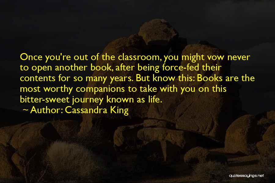 Life Open Book Quotes By Cassandra King