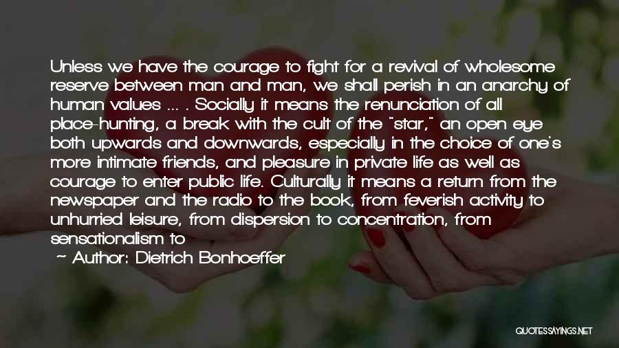 Life Open Book Quotes By Dietrich Bonhoeffer