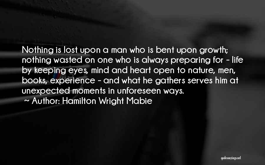Life Open Book Quotes By Hamilton Wright Mabie