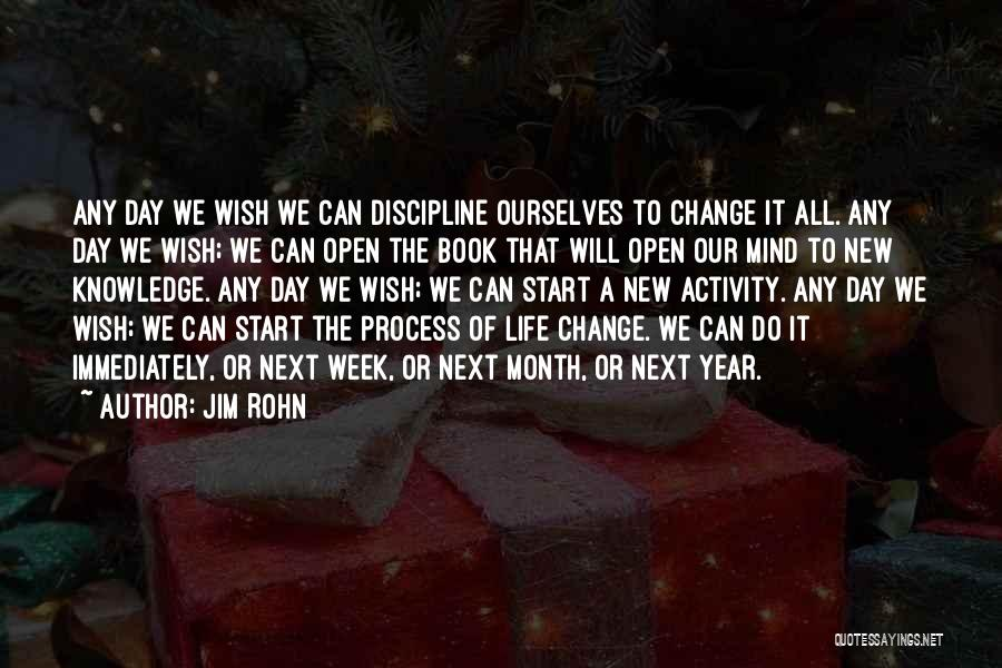 Life Open Book Quotes By Jim Rohn