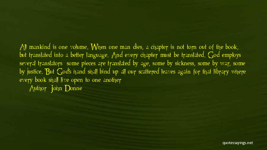 Life Open Book Quotes By John Donne