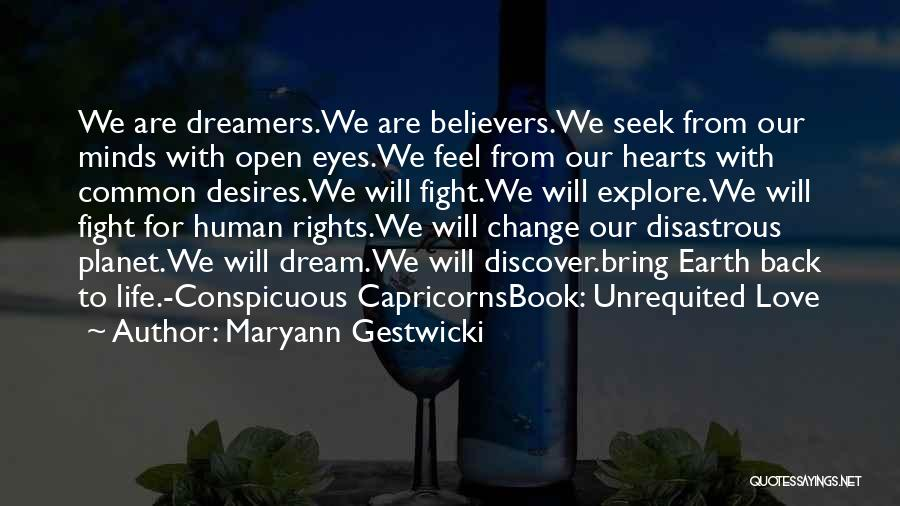 Life Open Book Quotes By Maryann Gestwicki