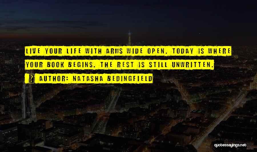 Life Open Book Quotes By Natasha Bedingfield