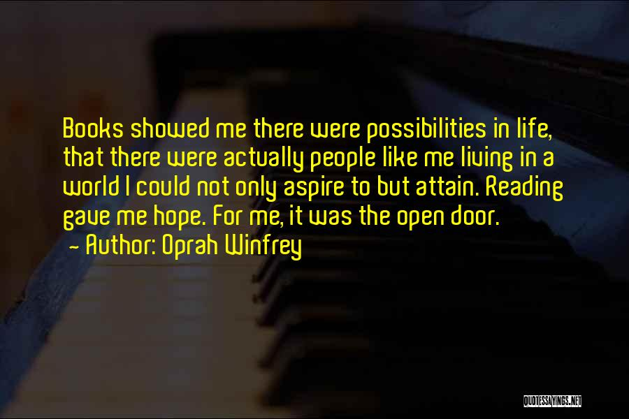 Life Open Book Quotes By Oprah Winfrey