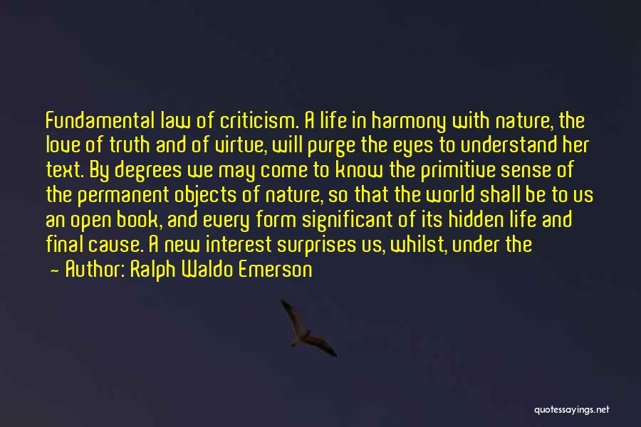 Life Open Book Quotes By Ralph Waldo Emerson